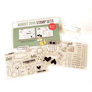 Picture of August Stamp Set